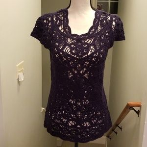 Lilly Pulitzer Sweaters - Lilly Pulitzer Crochet Top